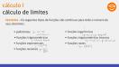 Cálculo de Limites - Propriedades dos Limites - Teoria