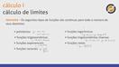 Cálculo de Limites - Propriedades dos Limites - Video