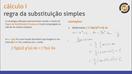 Integrais por substituições simples e por partes - Video