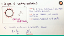 Campo Elétrico - Teoria