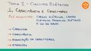 Capacitância e Capacitores - Teoria