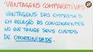 Comércio e vantagens comparativas - Teoria