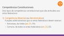 Competências Constitucionais em matéria ambiental - Teoria