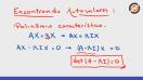 Definição do polinômio característico - Video