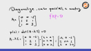 Diagonalização de uma matriz – exercício - Video