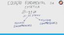 Equação Fundamental da Estática - Teoria