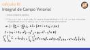 As integrais de campos vetoriais (fluxos) - Exercício