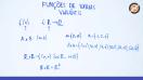 Funções de várias variáveis - Teoria