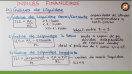 Índices Financeiros - Liquidez - Teoria