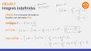Integrais definidas e indefinidas - Teoria - parte 2