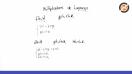 Multiplicadores de Lagrange - Teoria