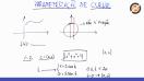Parametrização de curvas - Teoria