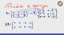 Produto de matrizes - Teoria