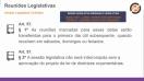 Reuniões e comissões parlamentares - Teoria